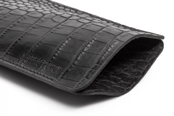 Luxury Glasses Case - Alligator Embossed