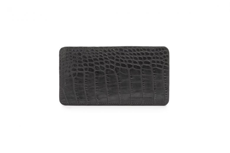 Slim Glasses Case - Alligator Embossed