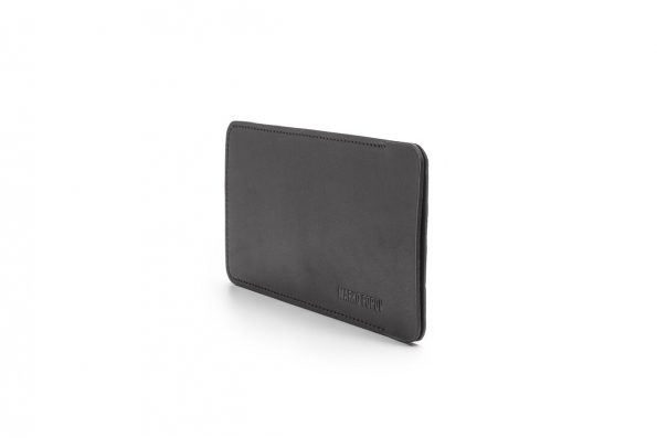 Slim Glasses Case Black Leather