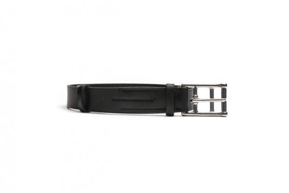 marko popov slim leather belt
