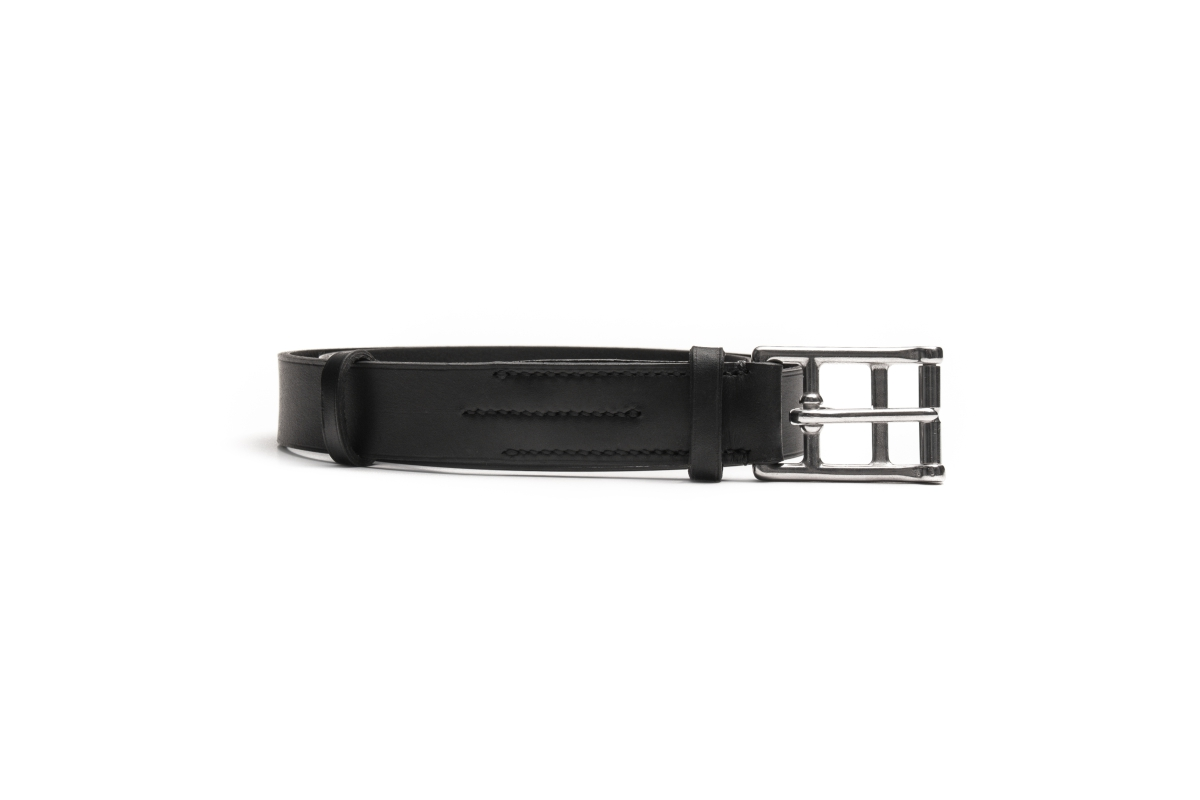 marko popov slim leather belt
