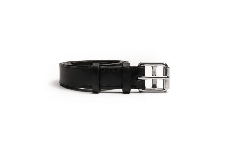 Marko Popov Slim Leather Belt 2.5cm wide